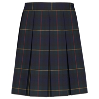 Belair Plaid Box Pleated Skirt