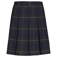 Belair Plaid Box Pleated Skirt