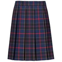 Wilson Plaid Box Pleated Skirt