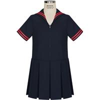 Navy Tropical Sailor Dress