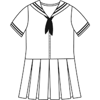 Bruce Plaid Sailor Dress