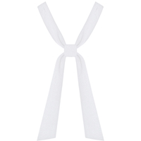 White 2 Piece Neck Tie