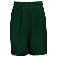 Forest Green Mesh Shorts with School Logo