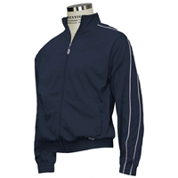 Navy Warm Up Jacket with School logo