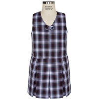 Patricia Plaid Zip Front Shift