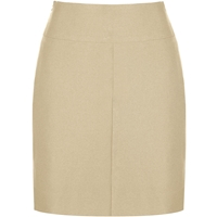 Khaki Gabardine Brooklyn Skirt