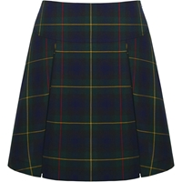 Belair Plaid Pleated Skort