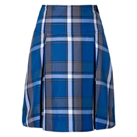 Grant Plaid Drop Yoke Pleated Skort