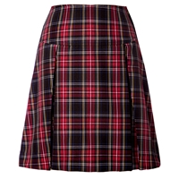 Macbeth Plaid Drop Yoke Pleated Skort