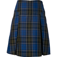 Mayfair Plaid Drop Yoke Pleated Skort
