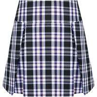 Arlington Plaid Pleated Skort