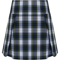 Belmont Plaid Drop Yoke Pleated Skort