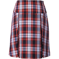 Liberty Plaid Drop Yoke Pleated Skort