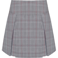 Hanover Plaid Pleated Skort