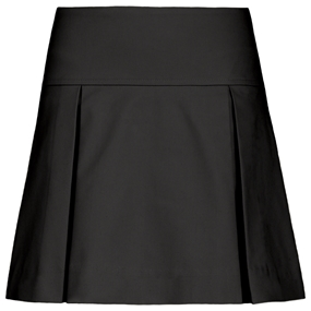 Black Pleated Skort