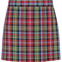 Primrose Plaid Pull-On Skort
