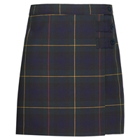 Belair Plaid Double Tab Pleated Skort