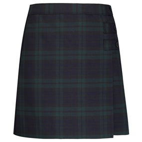 Blackwatch Plaid Skort With Tabs