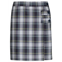 Campbell Plaid Skort With Tabs
