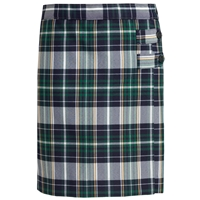 Christopher Plaid Skort With Tabs