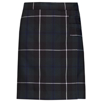 Columbia Plaid Double Tab Pleated Skort