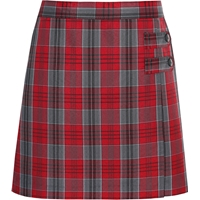 Fairmont Plaid Skort With Tabs