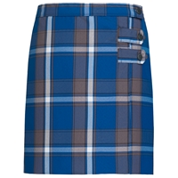 Grant Plaid Double Tab Pleated Skort