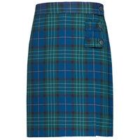 Kirk Plaid Double Tab Pleated Skort