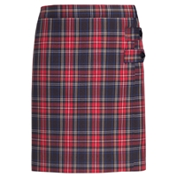 Macbeth Plaid Double Tab Pleated Skort