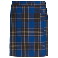 Mayfair Plaid Double Tab Pleated Skort
