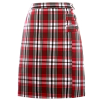 McDonald Plaid Double Tab Pleated Skort