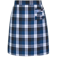 Morris Plaid Skort With Tabs