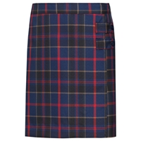 Wilson Plaid Double Tab Pleated Skort