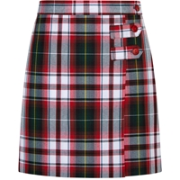 Bruce Plaid Skort With Tabs
