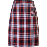 Liberty Plaid Double Tab Pleated Skort