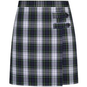 Belmont Plaid Skort With Tabs
