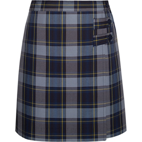 Tyler Plaid Skort With Tabs