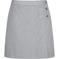 Charcoal Grey Skort With Tabs