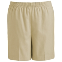 Khaki Pull-On Short