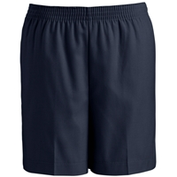 Navy Pull-On Short