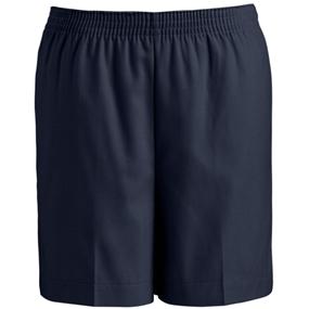 Navy Pull-On Short