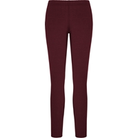 Maroon School Uniform Leggings