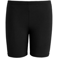 Black School Uniform Bike Shorts