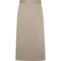 Khaki Ankle Length Skirt