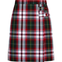 Bruce Plaid Longer Length Skort