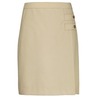Khaki Tropical Longer Length Skort