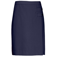 Navy Tropical Longer Length Skort