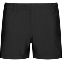 Black Volley Shorts