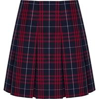 Hamilton Plaid Pleated Skirt