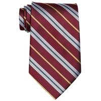 Pace Maroon Stripe Neck Tie